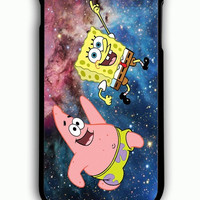 iPhone 6 Plus Case - Rubber (TPU) Cover with spongebob and patrick Rubber Case Design