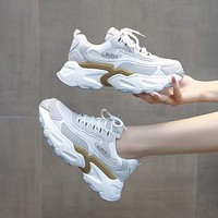 Casual Shoes Fashion Platform  Chunky Sneakers Sports