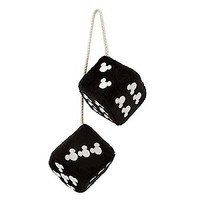 Your WDW Store - Disney Car Accessory - Mickey Mouse Fuzzy Dice