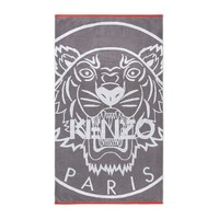 Tiger Gris Beach Towel by Kenzo