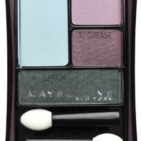 Maybelline New York Expert Wear Eyeshadow Quads, 30q Seashore Frosts Perfect Pastels, 0.17 Ounce