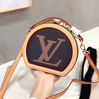 LV Vintage Women's Small Round Bag Shoulder Bag Crossbody Bag