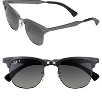 Women's Ray-Ban Polarized 'Clubmaster' 49mm Sunglasses