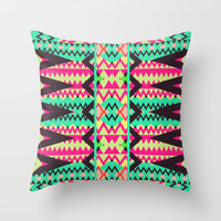 Mix #359 Throw Pillow by Ornaart