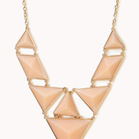 FOREVER 21 Statement Faux Stone Necklace