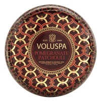 Voluspa 'Maison Rouge - Pomegranate Patchouli' Scented 2-Wick Candle
