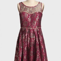 this side of paradise brocade dress at ShopRuche.com