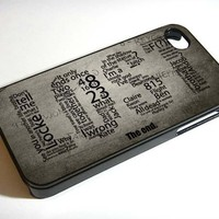 LOST QUOTE - iPhone 5 Case, iPhone 4/4s Case, Hard Case NDR