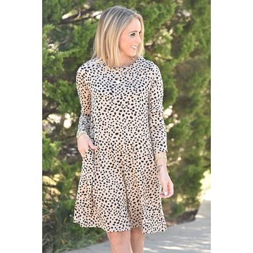 Carry Me With You Dress - Leopard