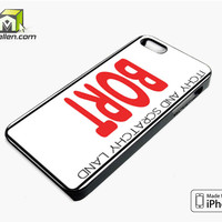 Bort License Plate Cover iPhone 5s Case Cover by Avallen