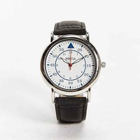 Breda Mid-Sized Military-Style Watch- Black One