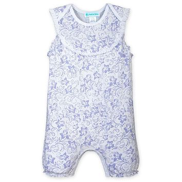 Yoke Romper by Feather Baby