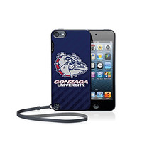 Gonzaga Bulldogs iPod Touch 5G Case officially licensed by Gonzaga University for the Apple iPod Touch 5G by keyscaper® Flexible Full Coverage Low Profile