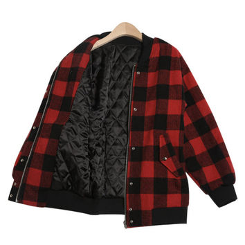 Jacket - Check Me Out - Jackets - Jackets & Outerwear - Women - Modekungen