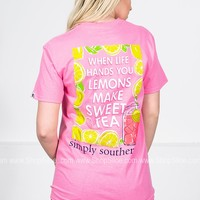 Lemons & Sweet Tea | Pink | Simply Southern