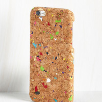Vintage Inspired Corks for Me! iPhone 6, 6S Case by ModCloth