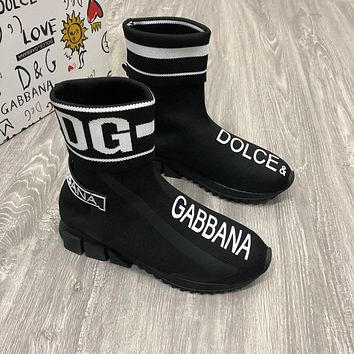 DG Trending Women's Black Leather Side Zip Lace-up Ankle Boots   Shoes High Boots