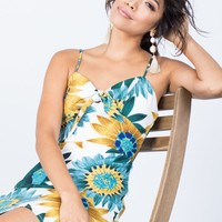 Sunflower Day Dress