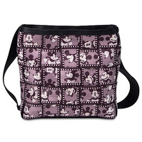 Mickey Mouse Silver Screen Mini Messenger Bag by Harveys