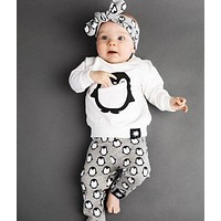 Baby Clothing Sets cotton T-shirt+pants Kids Clothes for boys tracksuit for Children's holiday costumes for girl