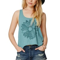 Volcom Stoned Destroyed Rolled Shorts - Womens Shorts