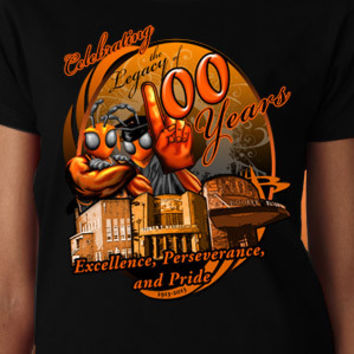 Booker T. Washington Hornets Centennial T-Shirt