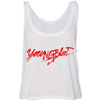 "5SOS 5 Seconds of Summer ""Youngblood"" Cropped Tank Top"