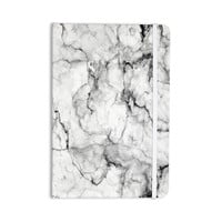 "Chelsea Victoria ""Marble No 2 "" Black Modern Everything Notebook"