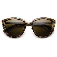 Womens Oversize Cat Eye Designer Fashion Sunglasses 9281