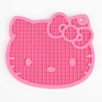Hello Kitty Pot Holder: Pink