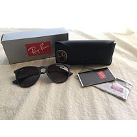 Tagre™ Cheap Ray-Ban Sunglasses Ericka Color Mix blue Women's NWT/box/case/papers outlet
