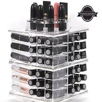 Zahra Beauty spinning lipstick tower acrylic lipstick holder lipstick organizer