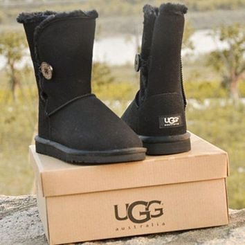 UGG female fashion wool snow boots wool shoes-8