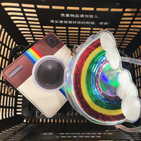 Unique Instagram and Rainbow Shoulder Bag