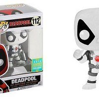 Funko Pop Marvel: Deadpool (White) 2016 SDCC Exclusive Vinyl Figure