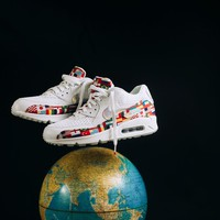 "Nike Air Max 90 NIC QS ""International Flag"" AO5119-100 Sneaker"
