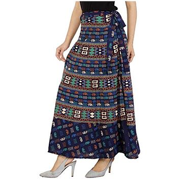 Hippie Indian cotton Wrap Round Skirt