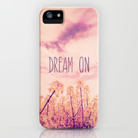 Dream On iPhone & iPod Case by hyakume