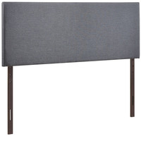 Modern Upholstered Padded Textured Fabric Headboards, Region