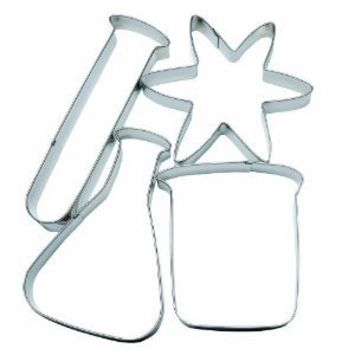 3B Scientific Science Lab Cookie Cutters