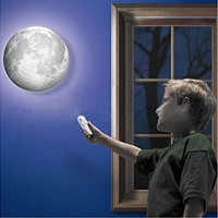 Amazing Remote Control LED Healing Moon Wall Ceiling Night Light Lamp Kids Gifts