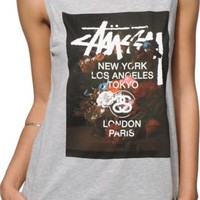 Stussy Floral Muscle Tee