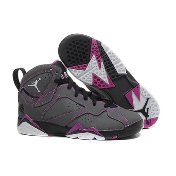 Air Jordan 7 GS Valentine's Day Basketball Shoes 36-39