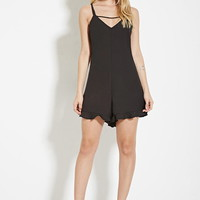 Paint It Red Night Eyes Playsuit