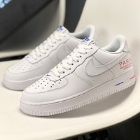 Nike Air Force 1 x NBA Paris New fashion hook couple shoes White