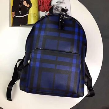 BURBERRY 2018 NEW STYLE LEATHER BACKPACK BAG
