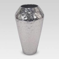 Textured Vase Silver Small - Threshold™