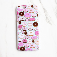Donut Print iPhone Case