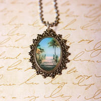 Welcome To Paradise Pendant