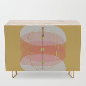 Modern minimal forms 55 Credenza by naturalcolors